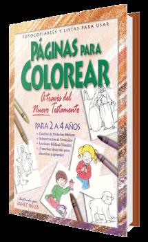 Páginas para Colorear - Nuevo Testamento. 2 a 4 años