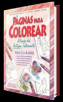 Páginas Para Colorear - Antiguo Testamento - 2 a 4 años
