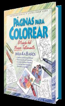 Páginas Para Colorear - Nuevo Testamento 4 a 8 años