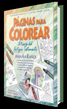 Páginas Para Colorear - Antiguo Testamento 4 a 8 años