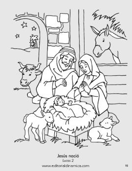 Jesús nació - Lucas 2 - Gracias, Dios, por Jesús