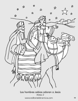 Los hombres sabios adoran a Jesús - Mateo 2 - Quiero honrar a Jesús
