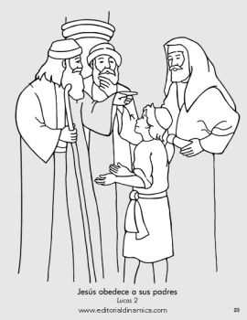 Jesús obedece a sus padres - Lucas 2 - Puedo obedecer a mis padres