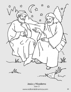 Jesús y Nicodemo - Juan 3 - Puedo ser amigo de una persona importante