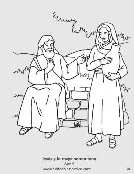 Jesús y la mujer samaritana - Juan 4 - Puedo ser amigo de una persona a quien nadie quiere