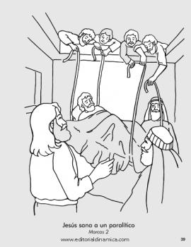 Sana a un paralítico - Marcos 2 - Puedo ser amigo de alguien que esté enfermo
