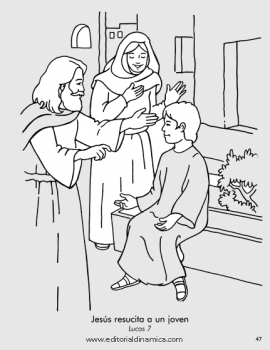 Resucita a un joven - Lucas 7 - ¡Alabemos a Jesús!