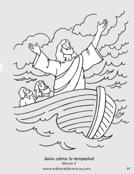 Calma la tempestad - Marcos 4 - Jesús es poderoso. ¡Él puede cambiar el clima!
