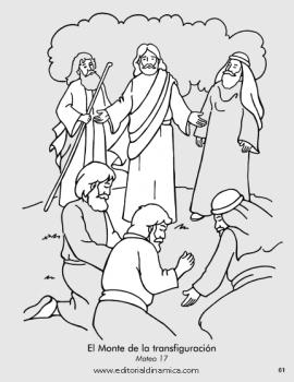 Monte de la transfiguración - Mateo 17 - Seguiré a Jesús, nuestro líder