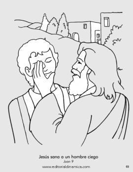 Jesús sana a un hombre ciego - Juan 9 - Jesús puede sanar a los ciegos