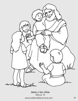 Jesús y los niños - Marcos 10 - Puedo ser amigo de otros siendo amable