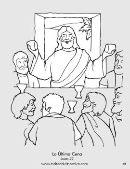 Última Cena - Lucas 22 - Jesús quiere que lo recordemos en una forma especial