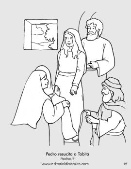 Pedro resucita a Tabita - Hechos 9 - Puedo demostrar a mis amigos que Jesús les ama